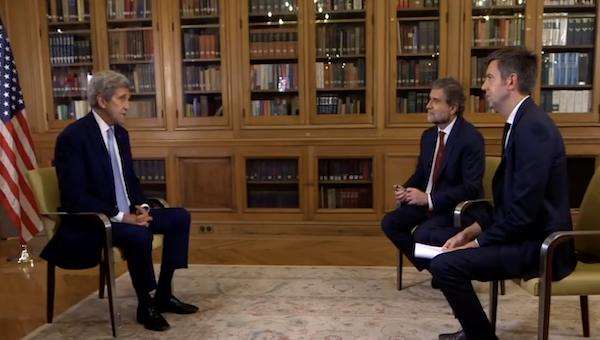 John Kerry told French TV